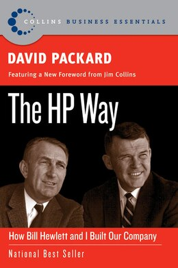 Book The Hp Way: How Bill Hewlett and I Built Our Company by David Packard