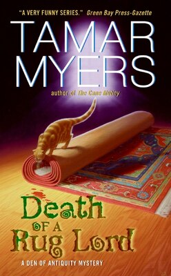 Book Death Of A Rug Lord by Tamar Myers