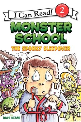 Book Monster School: The Spooky Sleepover: The Spooky Sleepover by Dave Keane