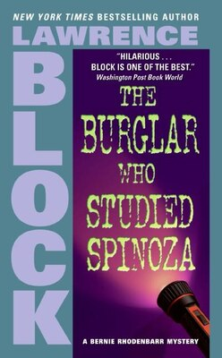 Book The Burglar Who Studied Spinoza by Lawrence Block