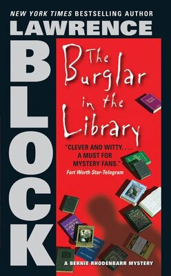 Book The Burglar In The Library by Lawrence Block