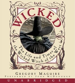 Book Wicked Cd by Gregory Maguire