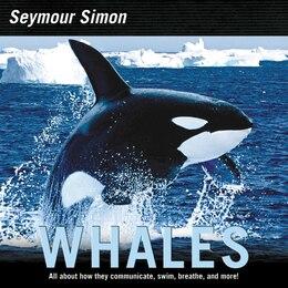 Book Whales by Seymour Simon