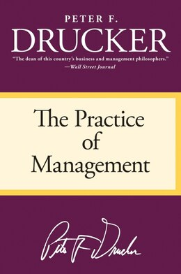 Book The Practice of Management by Peter F. Drucker