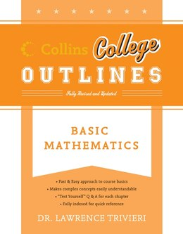 Book Basic Mathematics by Lawrence A. Trivieri