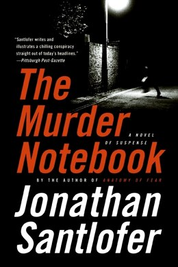 Book The Murder Notebook: A Novel of Suspense by Jonathan Santlofer