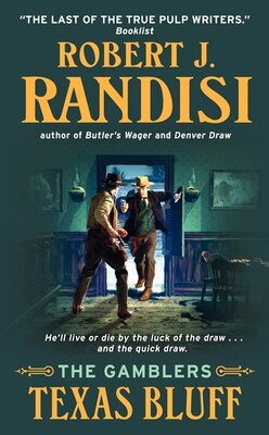 Book Texas Bluff: The Gamblers by Robert J. Randisi