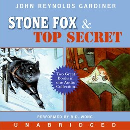 Book Stone Fox And Top Secret Cd by John Reynolds Gardiner