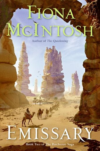 Emissary: Book Two of The Percheron Saga by Fiona Mcintosh