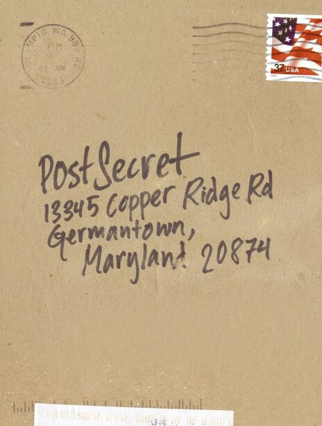 Postsecret: Extraordinary Confessions from Ordinary Lives by Frank Warren
