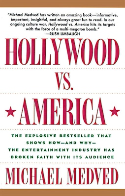 Book Hollywood Vs. America by Michael Medved