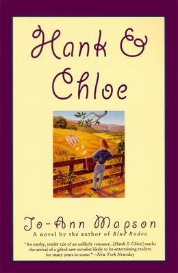 Book Hank & Chloe by Jo-ann Mapson