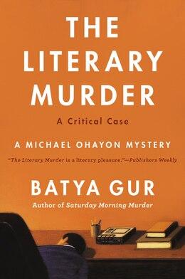 Book Literary Murder by Gur, Batya