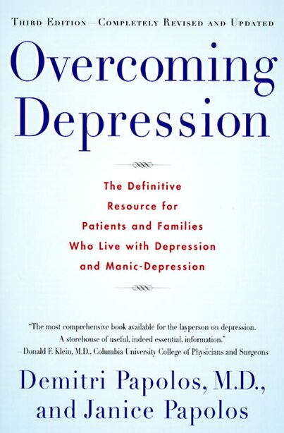 Overcoming Depression, 3rd Edition by Demitri Papolos