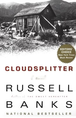 Book Cloudsplitter by Russell Banks