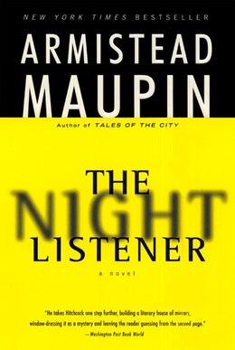 Book The Night Listener: A Novel by Armistead Maupin