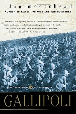 Book Gallipoli by Alan Moorehead