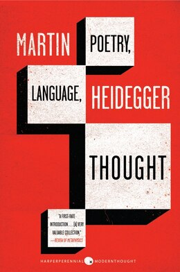 Book Poetry, Language, Thought by Martin Heidegger