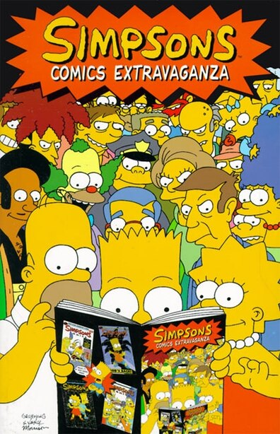 Simpsons Comics Extravaganza by Matt Groening