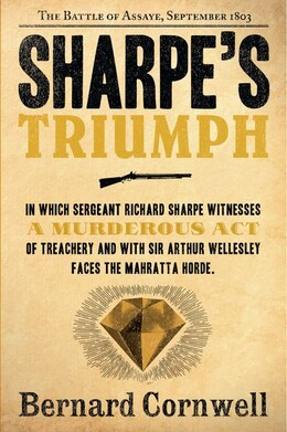 Book Sharpe's Triumph: The Battle of Assaye, September 1803 by Bernard Cornwell