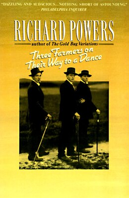 Book Three Farmers on Their Way to a Dance by Richard Powers