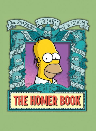 The Homer Book by Matt Groening