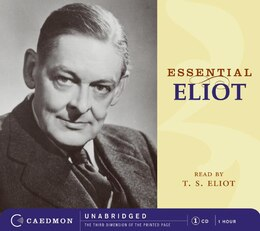 Book Essential Eliot Cd by T.s. Eliot