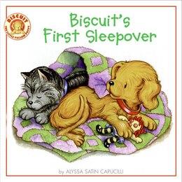 Book Biscuit's First Sleepover by Alyssa Satin Capucilli