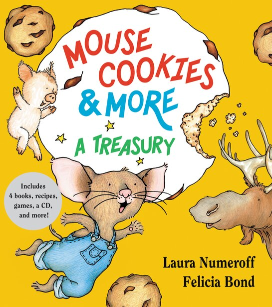 Mouse Cookies & More: A Treasury by Laura Numeroff