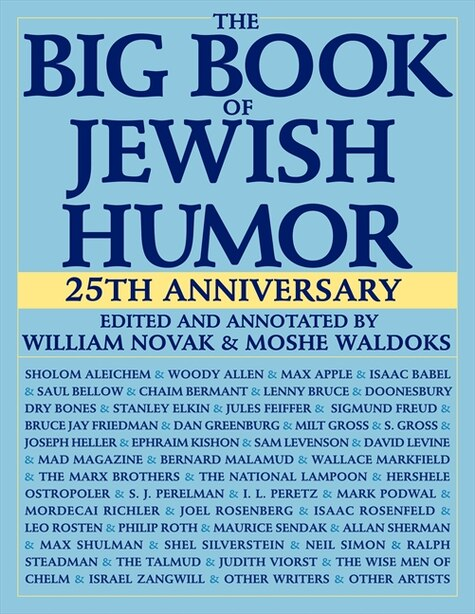 The Big Book Of Jewish Humor by William Novak