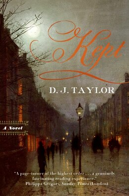 Book Kept: A Novel by D. J. Taylor