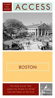 Book Access Boston 8e by Richard Saul Wurman