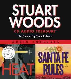 Stuart Woods Cd Audio Treasury Low Price: Santa Fe Rules and Heat by Stuart Woods