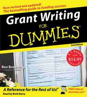 Grant Writing For Dummies 2nd Ed. Cd by Beverly Browning
