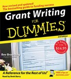 Grant Writing For Dummies 2nd Ed. Cd
