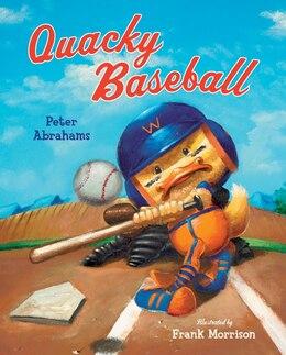 Book Quacky Baseball by Peter Abrahams