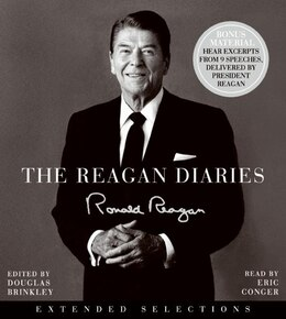 Book The Reagan Diaries Extended Selections Cd by Ronald Reagan