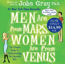 Book Men Are From Mars, Women Are From Venus Low Price Cd by John Gray