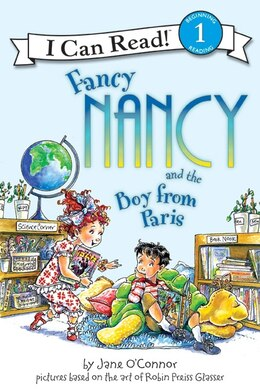 Book Fancy Nancy And The Boy From Paris by Jane O'Connor