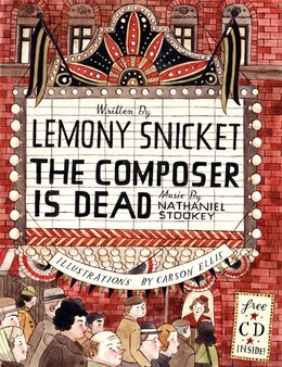 Book The Composer Is Dead by Lemony Snicket
