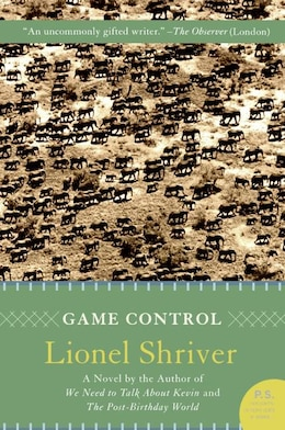 Book Game Control: A Novel by Lionel Shriver