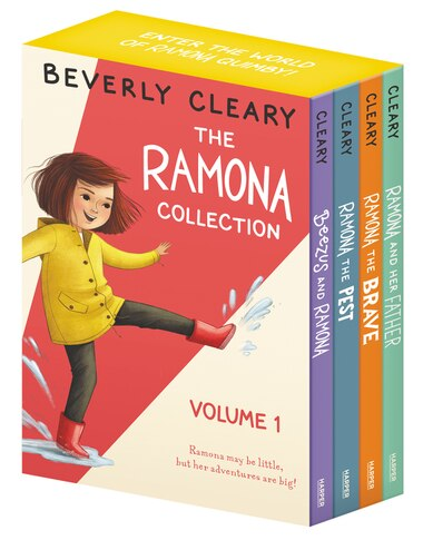 The Ramona Collection, Volume 1: Beezus and Ramona, Ramona and Her Father, Ramona the Brave, Ramona the Pest by Beverly Cleary