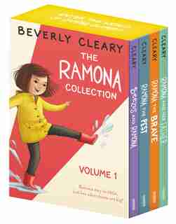 The Ramona 4-book Collection, Volume 1: Beezus and Ramona, Ramona and Her Father, Ramona the Brave, Ramona the Pest by Beverly Cleary
