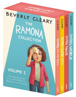 Book The Ramona Collection, Volume 2: Ramona And Her Mother; Ramona Quimby, Age 8; Ramona Forever… by Beverly Cleary