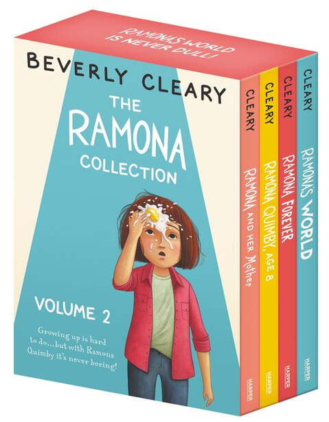 The Ramona 4-book Collection, Volume 2: Ramona and Her Mother; Ramona Quimby, Age 8; Ramona Forever; Ramona's World de Beverly Cleary