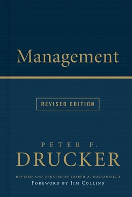Book Management Rev Ed by Peter F. Drucker