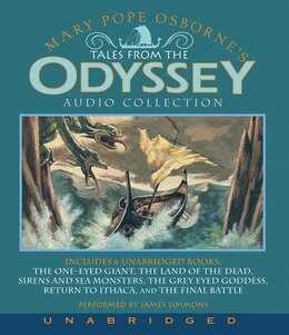 Book Tales From The Odyssey Cd Collection by Mary Pope Osborne