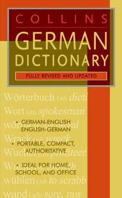Book Collins German Dictionary by HarperCollins Publishers