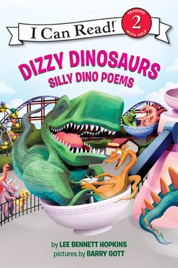 Book Dizzy Dinosaurs: Silly Dino Poems by Lee Bennett Hopkins