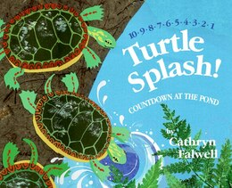 Book Turtle Splash!: Countdown at the Pond by Cathryn Falwell